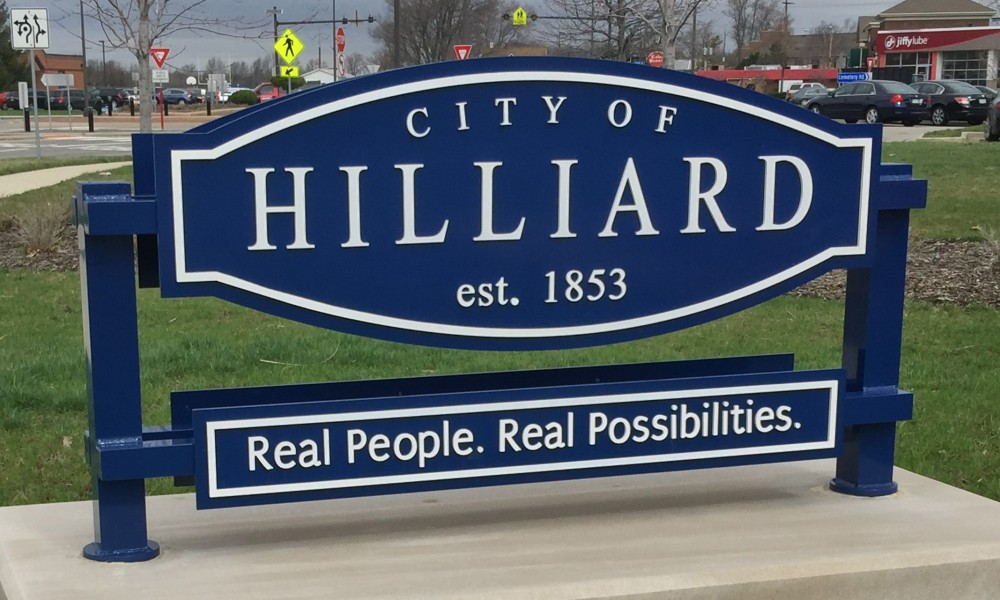 City of Hilliard Sign